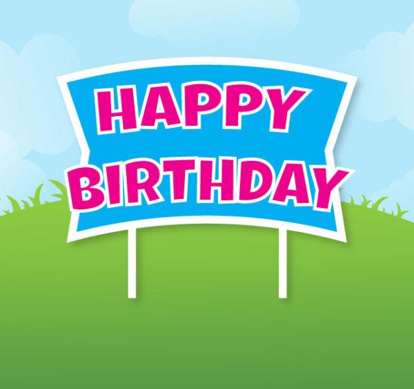 corridor celebrations happy birthday yard sign corridorcelebrations.com