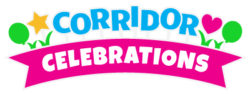 Corridor Celebrations logo | corridorcelebrations.com