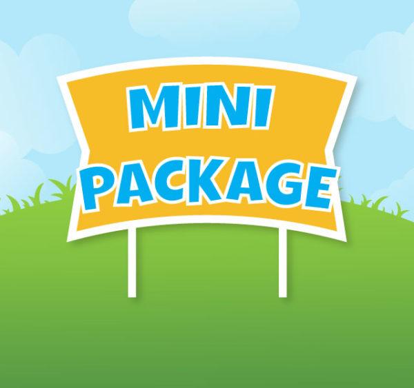 corridor celebrations mini package yard sign corridorcelebrations.com